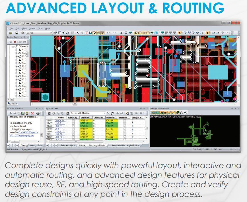 PADS LAYOUT / EDA - CFD Software