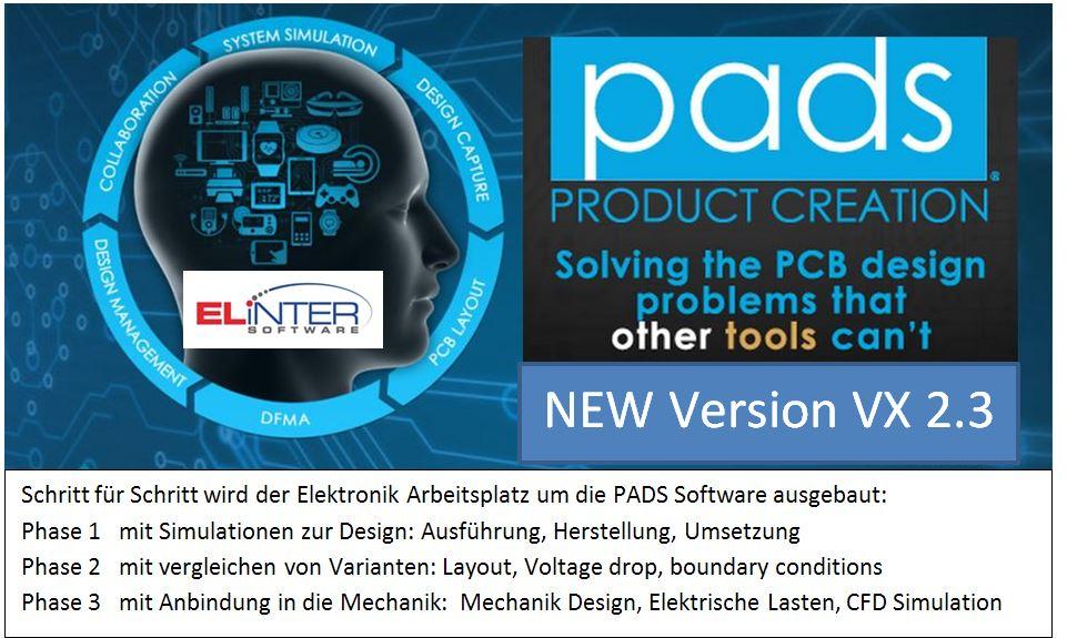 PADS VX 2.3 - Elektronik Arbeitsplatz